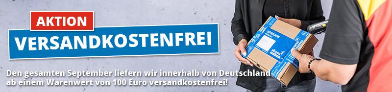 Aktion - Im September Versandkostenfrei innerhalb von Deutschland, ab 100€ Warenwert