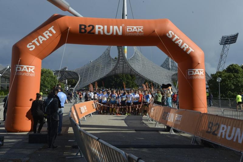 Inflatable Zieleinlaufbogen B2Run Laufsport-Event