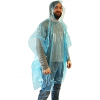 Einweg Regenponcho bunt -