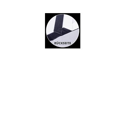 Flauschband 5 cm breit (inkl. Klettband)