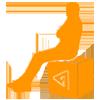Sitzgelegenheiten bedruckt-icon