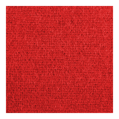 Dekomolton konfektioniert - rot