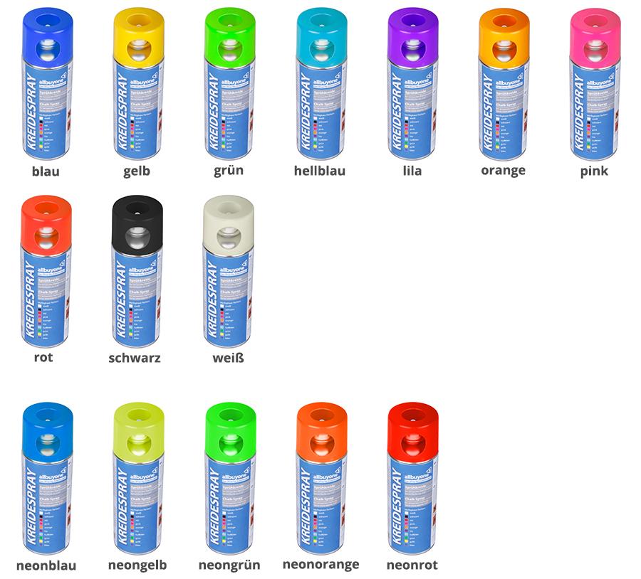 kreidespray-farben