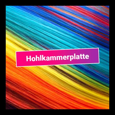 Hohlkammerplatte - 3 mm