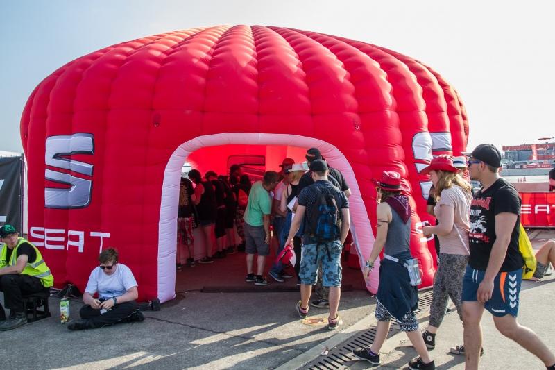 Inflatable Zelt für Werbeaktionen