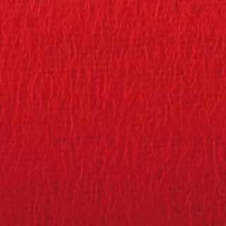 Roter Molton als Dekomolton im Detail