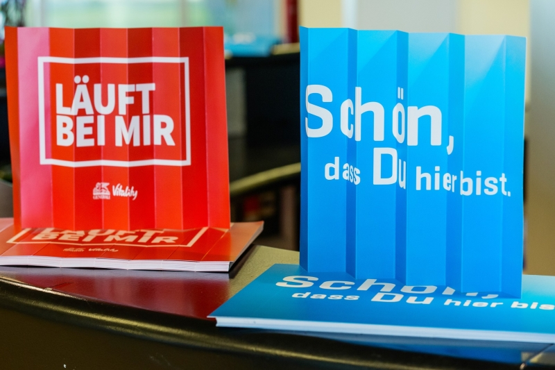 bedruckte Klatschpappen als Werbeartikel
