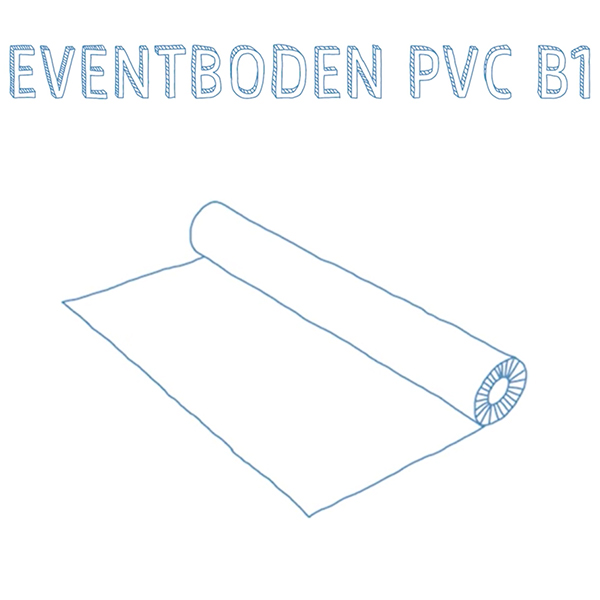 PVC B1 Meterware
