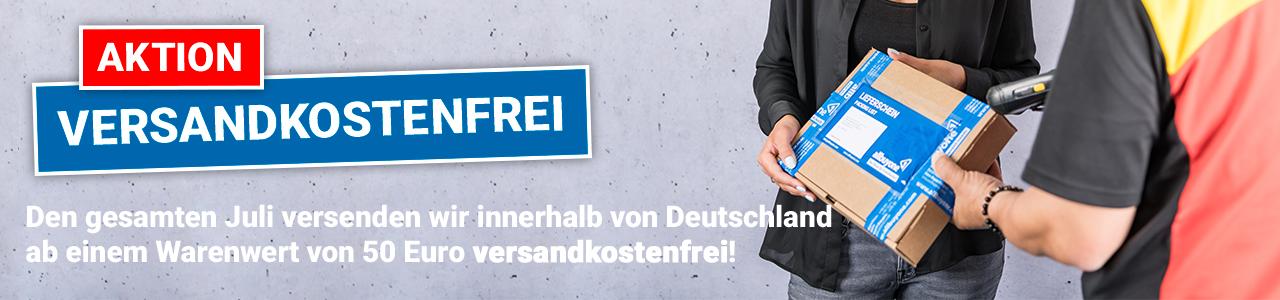 Aktion - Im Juli Versandkostenfrei innerhalb von Deutschland, ab 50€ Warenwert