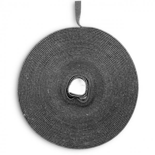 10 x Klett Kabelbinder back to back Klettband beidseitig Klettverschluss