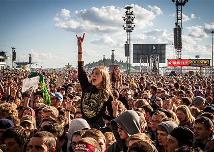 Eventbedarf für Festivals