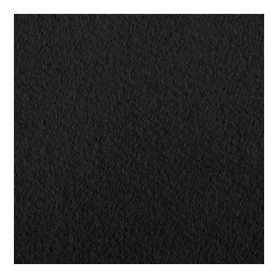 Bühnenmolton konfektioniert - schwarz