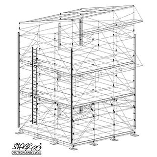 Front of House (FOH) technische Zeichnung