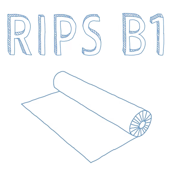 Rips Messeteppich B1