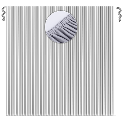 Kräuselband 2 cm breit