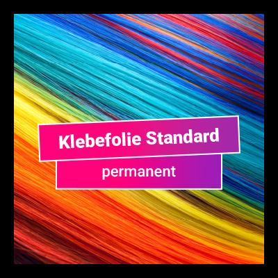 Klebefolie Standard permanent - glänzend