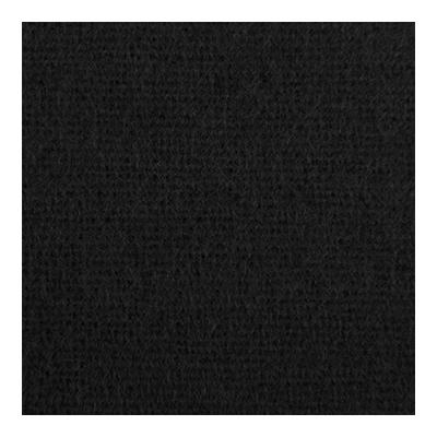 Dekomolton konfektioniert - schwarz